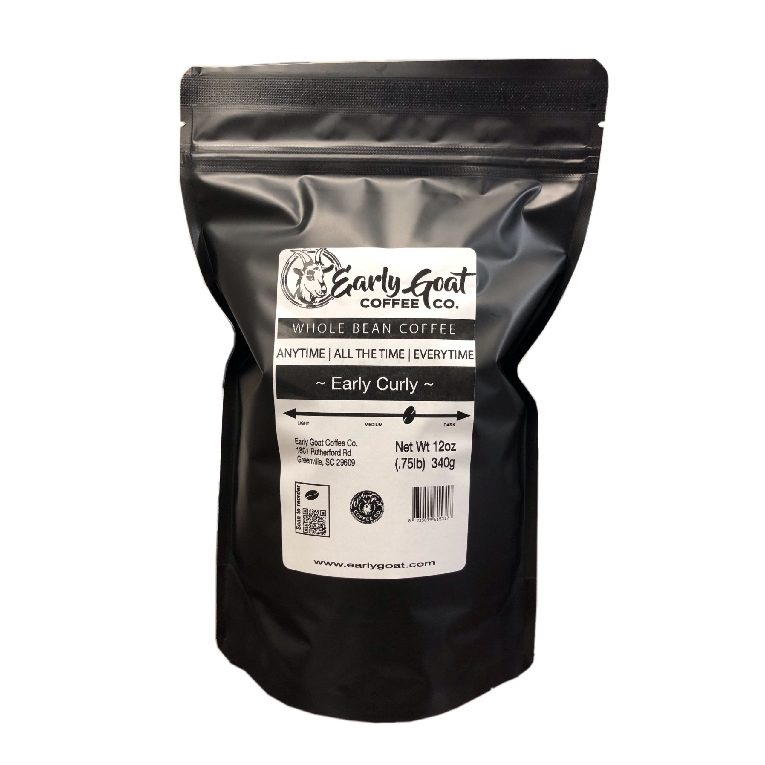 Early Curly – Fresh Roasted Coffee